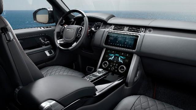 2022 Land Rover Range Rover interior