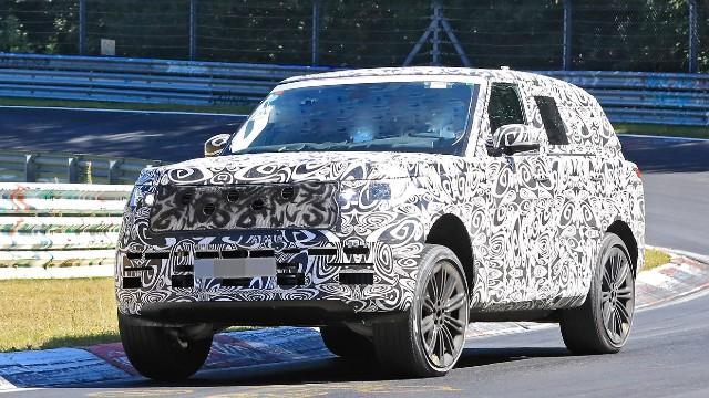 2022 Land Rover Range Rover spied