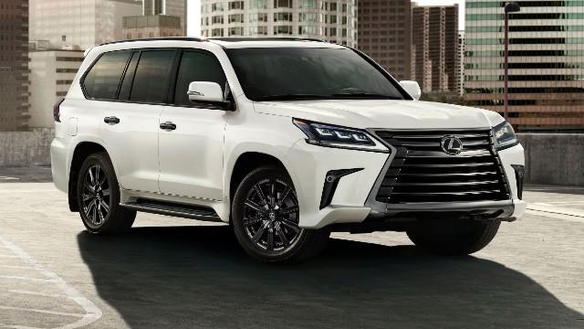2022 Lexus LX release date