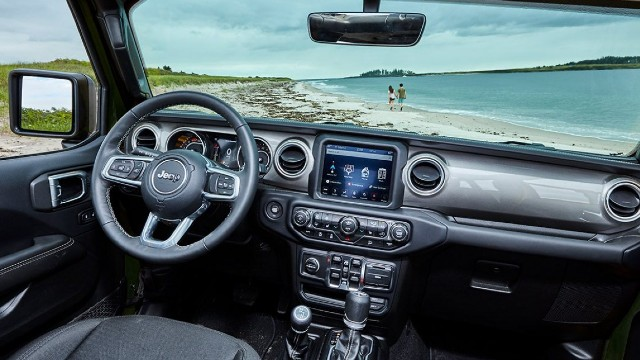 2022 Jeep Wrangler interior