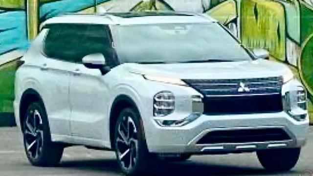 2022 Mitsubishi Outlander leaked