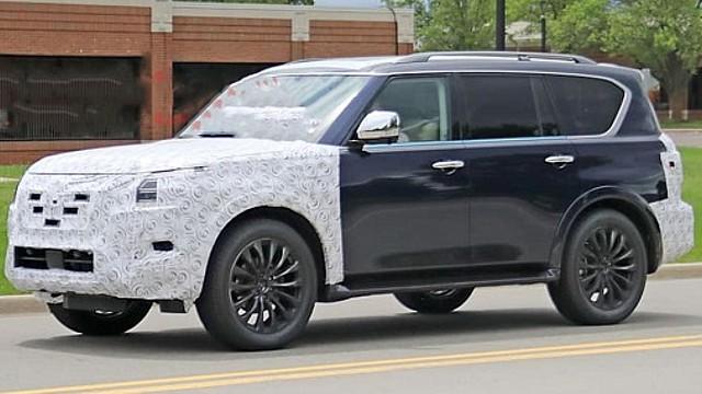 2022 Nissan Armada redesign
