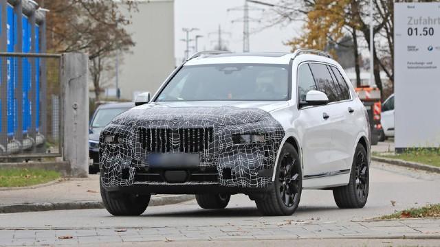 2022 BMW X7 facelift