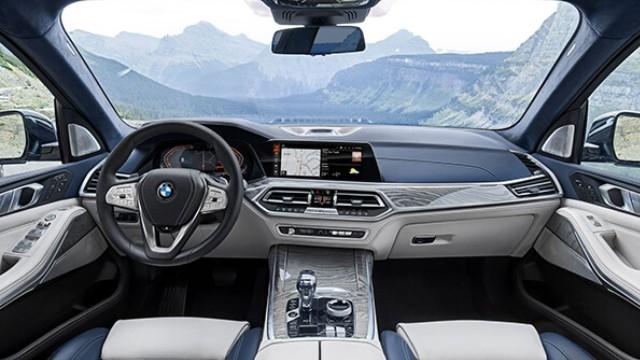 2022 BMW X7 interior