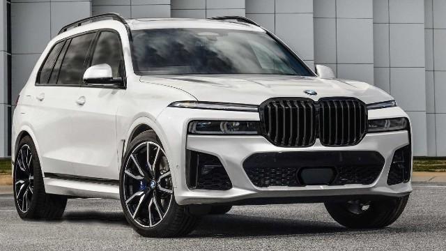 2022 BMW X7 render