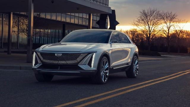 2022 Cadillac Lyriq electric