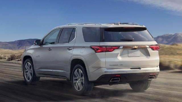 2022 Chevrolet Traverse redesign