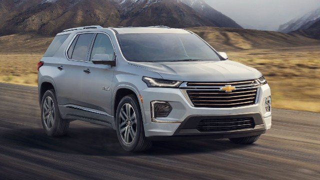 2022 Chevrolet Traverse release date