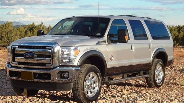 2022 Ford Excursion dimensions
