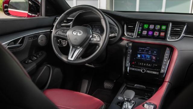 2022 Infiniti QX55 interior