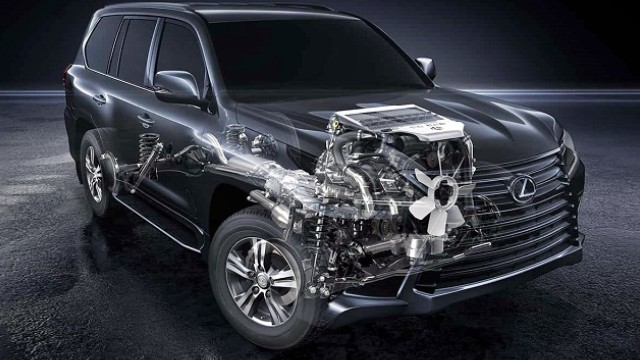 2022 Lexus LX 570 specs