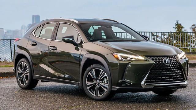 2022 Lexus UX changes