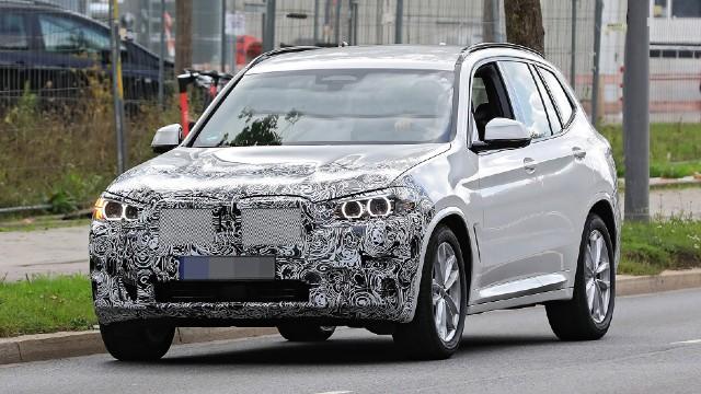 2022 BMW X3 redesign