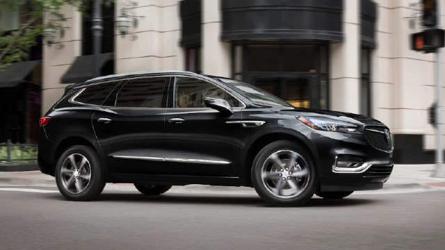 2022 Buick Enclave colors