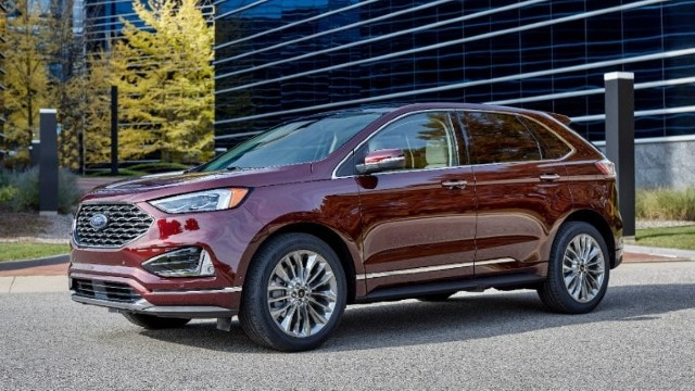 2022 Ford Edge colors