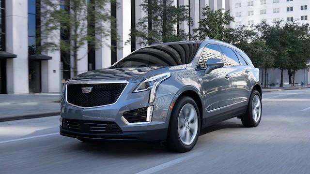 2022 Cadillac XT5 colors