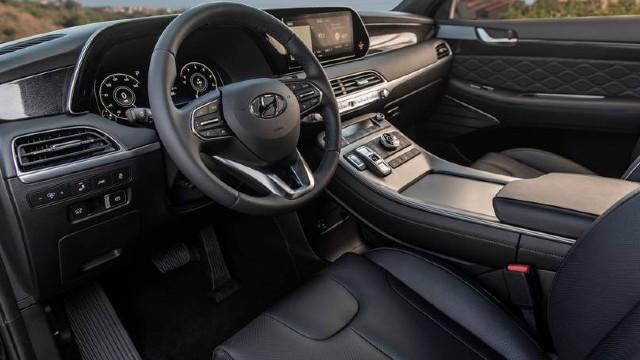 2022 Hyundai Palisade interior