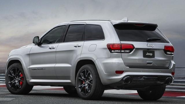 2022 Jeep Grand Cherokee SRT redesign