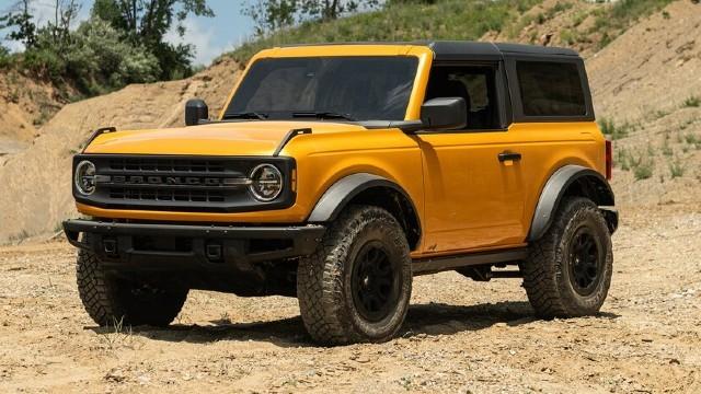 2022 Ford Bronco Raptor design