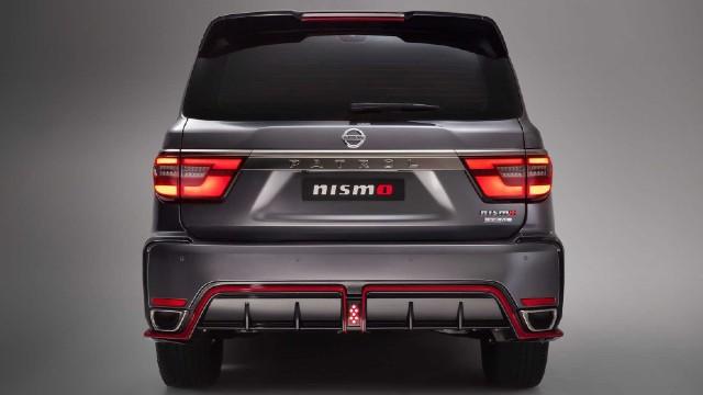 2022 Nissan Patrol Nismo design