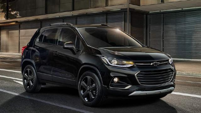 2022 Chevrolet Trax black