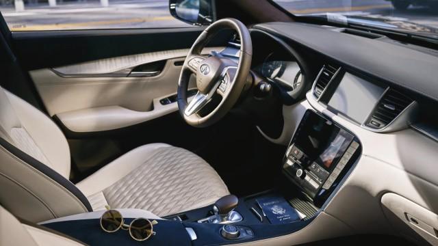 2022 Infiniti QX50 interior