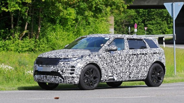 2022 Range Rover Evoque facelift