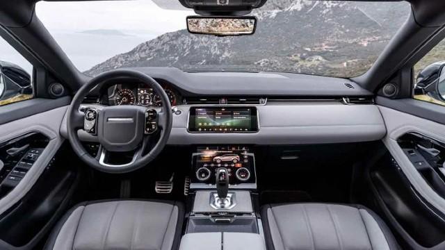 2022 Range Rover Evoque interior