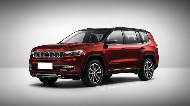 2022 Jeep Commander Grand