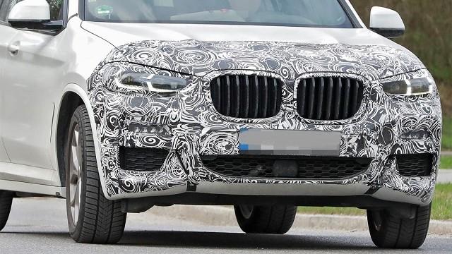 2023 BMW X3 spied