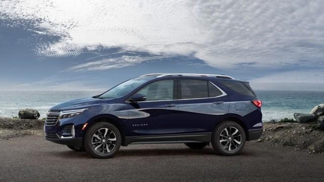 2023 Chevy Equinox redesign
