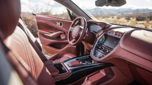 2023 Aston Martin DBX interior