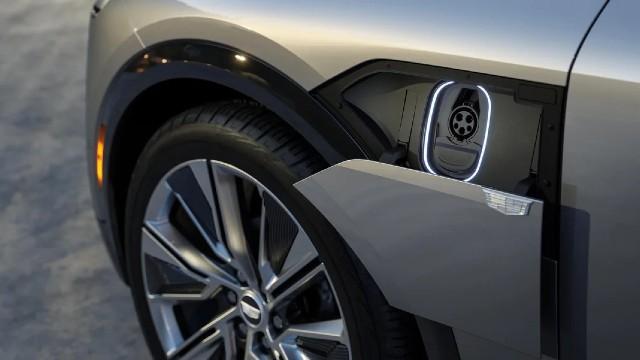 2023 Cadillac Lyriq charging