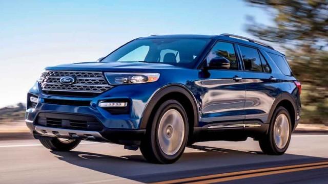 2023 Ford Explorer redesign