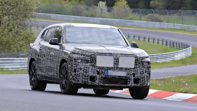 2023 BMW X8 M spied