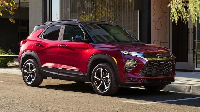 2023 Chevrolet Trailblazer colors