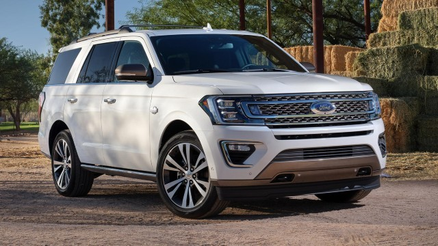 2023 Ford Expedition white