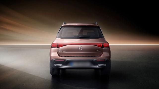 2023 Mercedes-Benz EQB dimensions