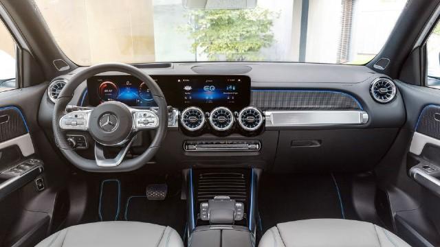 2023 Mercedes-Benz EQB interior