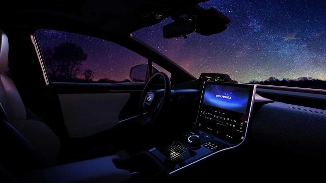 2023 Subaru Solterra interior