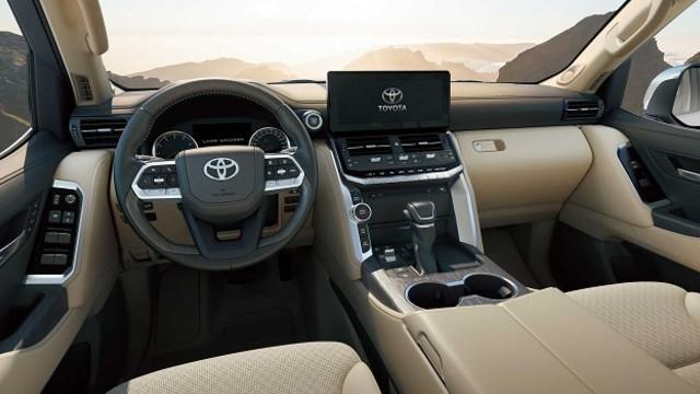 2023 Toyota Land Cruiser interior