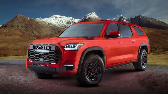 2023 Toyota Sequoia release date