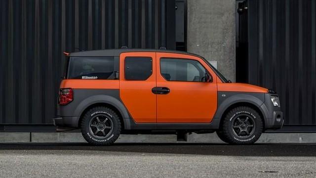 2023 Honda Element colors